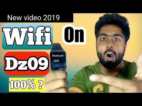 Wifi On Dz09 Smart Watch|| How To Use Wifi On Dz09|| Dz09 Wifi Option|| Hindi/Urdu| AlirazaTV