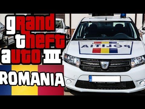 AM FACUT ACCIDENT CU POLITIA ROMANA - GTA ROMANIA 2 !