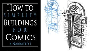 How to Simplify Buildings for COMICS and Use PERSPECTIVE!!