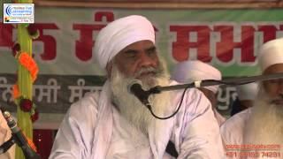 Sant Baba  Maan Singh ji Pehowa Wale SALEMPUR - SIDHWANBET (LDH) Smagam    28th March 2014.