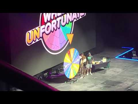 Dude Perfect Tour Indianapolis Ned Forrester Wheel Unfortunate