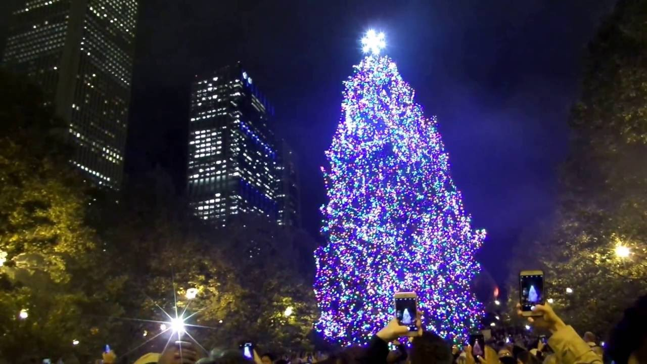 chicagos 103rd christmas tree lighting ceremony 11 18 2016 youtube - Christmas Tree In Chicago