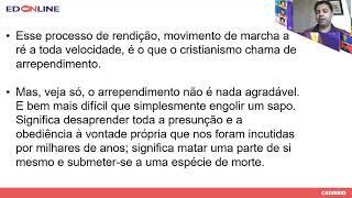 AULA ED ONLINE. Pr. Leandro (25/10/2020)