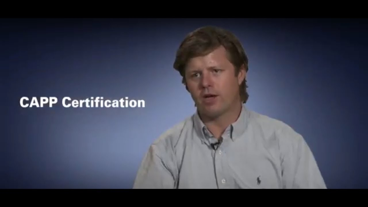 Capps On What The Certification Means To Them Youtube