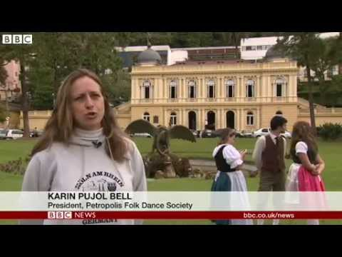 BBC News   Brazil  German settlements prepare for World Cup final
