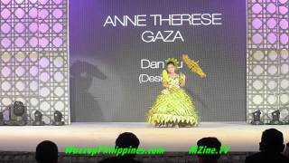 Little Miss Earth 2014 Gala Night Recycled gown Competition Part 3