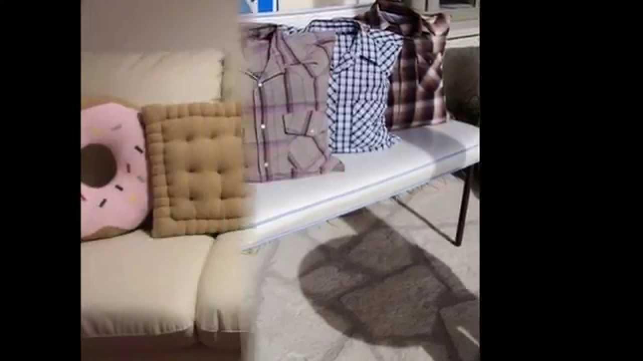 Ideas originales para hacer tus propios cojines o - Como colocar cojines en la cama ...