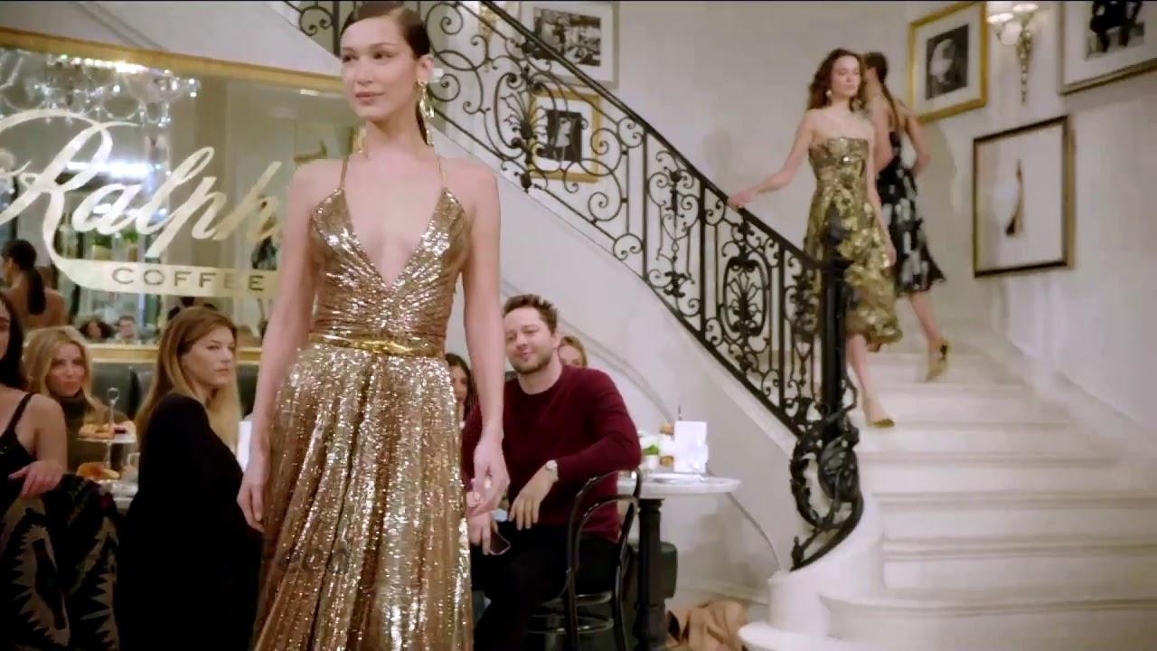 bcdcdd84e49c Bella Hadid desfilando para Ralph Lauren Spring Summer 2019 - NYFW
