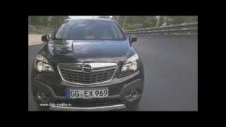 Тест-драйв Опель Мокка (Opel Mokka) на гоночной трассе