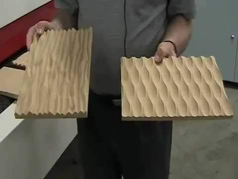 Architectural MDF Panels | Stiles Machinery - YouTube