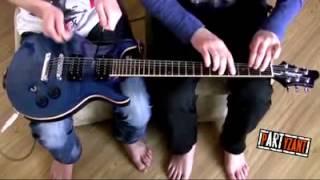 House Of The Rising Sun вдвоём на одной гитаре