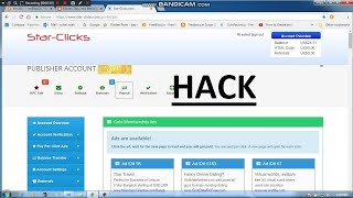 how to hack star click site and earn as you want enough
