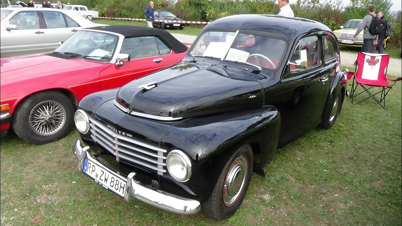 1954 volvo pv444 veterama mannheim 2015 youtube. Black Bedroom Furniture Sets. Home Design Ideas
