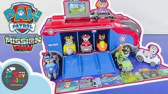 Biệt đội Chó Cứu Hộ PAW Patrol Mission PAW và xe Mission Cruiser ToyStation 337