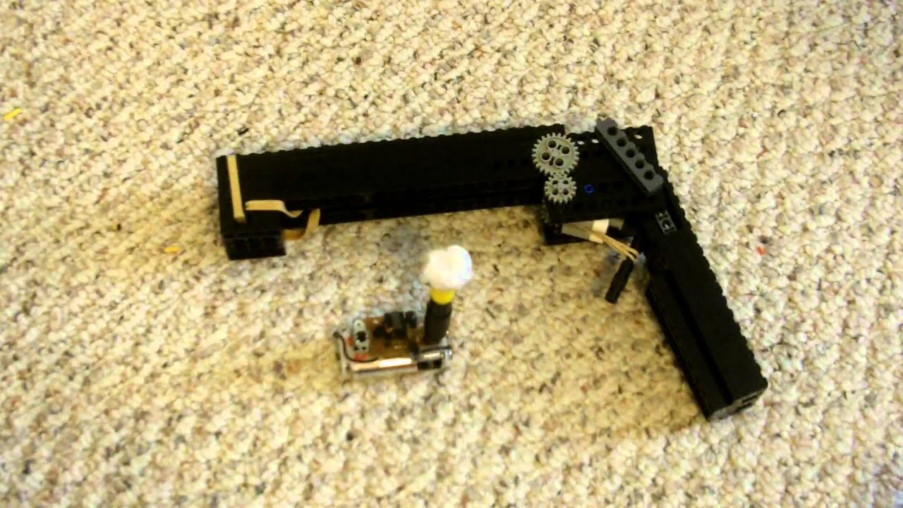 working lego guns how to build