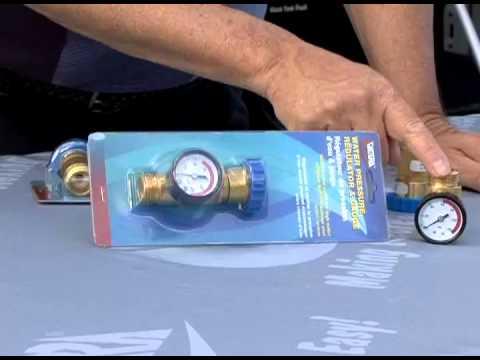 RV Water Regulators - A Valterra Product