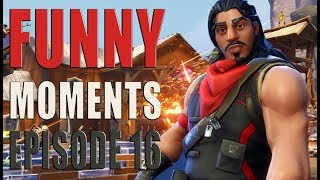 Funny And Lucky Moments - Fortnite Battle Royale - Ep.16