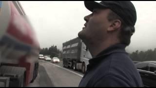 Kako slovenska policija nadzoruje tovornjake