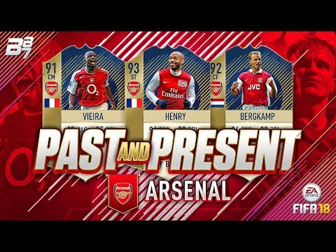 PAST AND PRESENT ARSENAL SQUAD BUILDER! | FIFA 18 ULTIMATE TEAM thumbnail