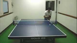 SIMA桌球教室-下旋發球