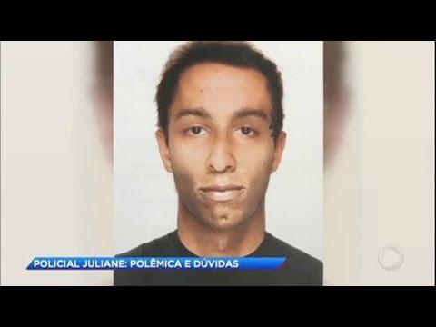 Polícia aborda suspeito semelhante a homem de retrato falado do caso da PM Juliane