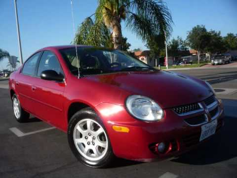 sold 2005 dodge neon sxt for sale used cars autos usados in orange county ca buy sale and. Black Bedroom Furniture Sets. Home Design Ideas