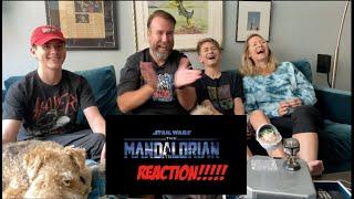 The Mandalorian Season 2 Official Trailer Disney + REACTION!!!!!
