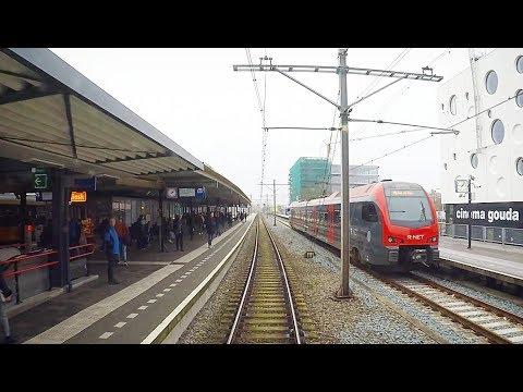 CABVIEW NL 4K Gouda Goverwelle - Den Haag CS (Incl. Shunt Tracks) / SPR 6842 / 15-11-2017