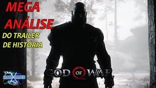 God of War - Mega Análise do trailer de história + 2 teorias confirmadas!!!