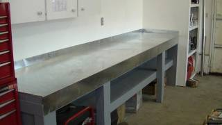 New Metal Top Work Bench For Small Engine Repair