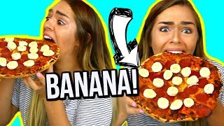 Video WEIRD Food Combinations People LOVE!!! EATING FUNKY & GROSS DIY FOODS! Nichole Jacklyne download MP3, 3GP, MP4, WEBM, AVI, FLV Januari 2018