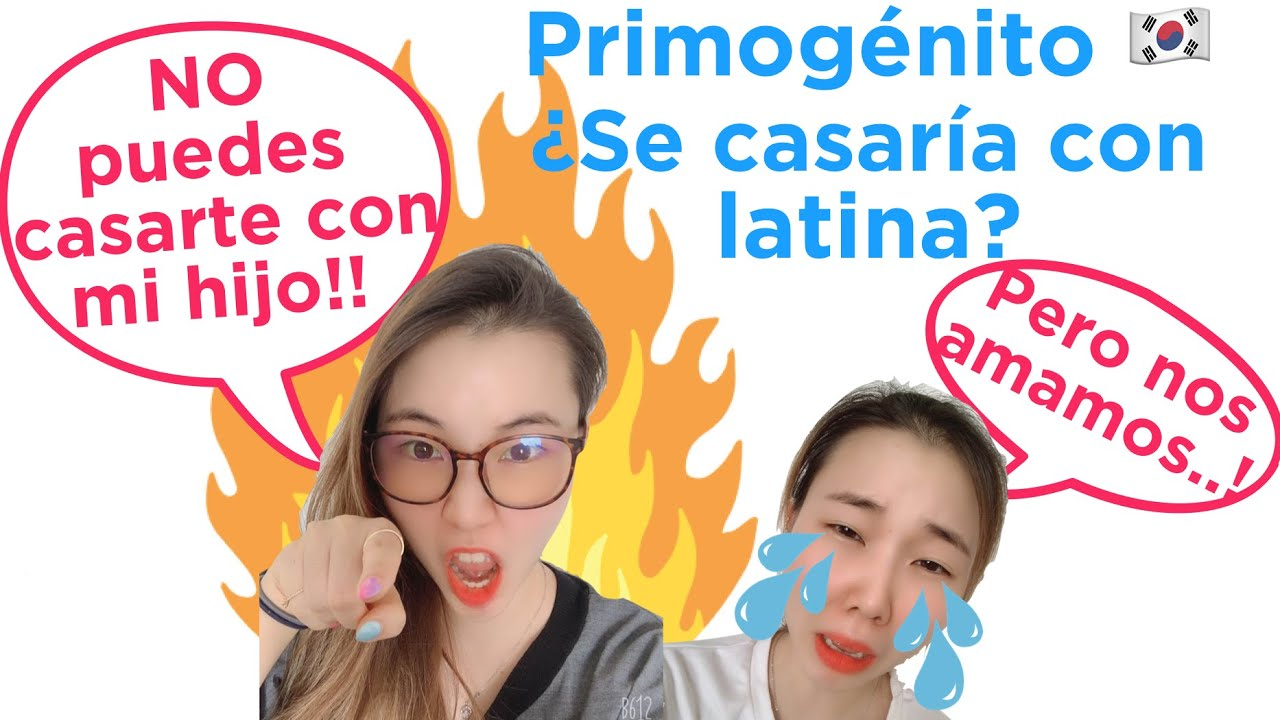 ¿Primogénito coreano se casaría con una latina?
