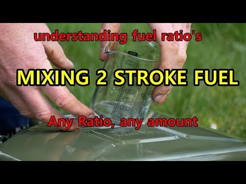 2 STROKE OIL MIX any ratio and any quantity EASY