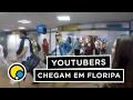 Youtubers chegam em Floripa para o #DiaDeVerao