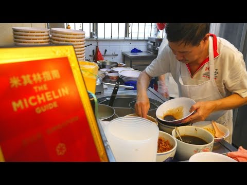 Best MICHELIN STAR food in SINGAPORE | Singapore street food for CHEAP