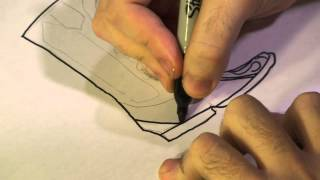 How to Draw Western Cowboy Boots