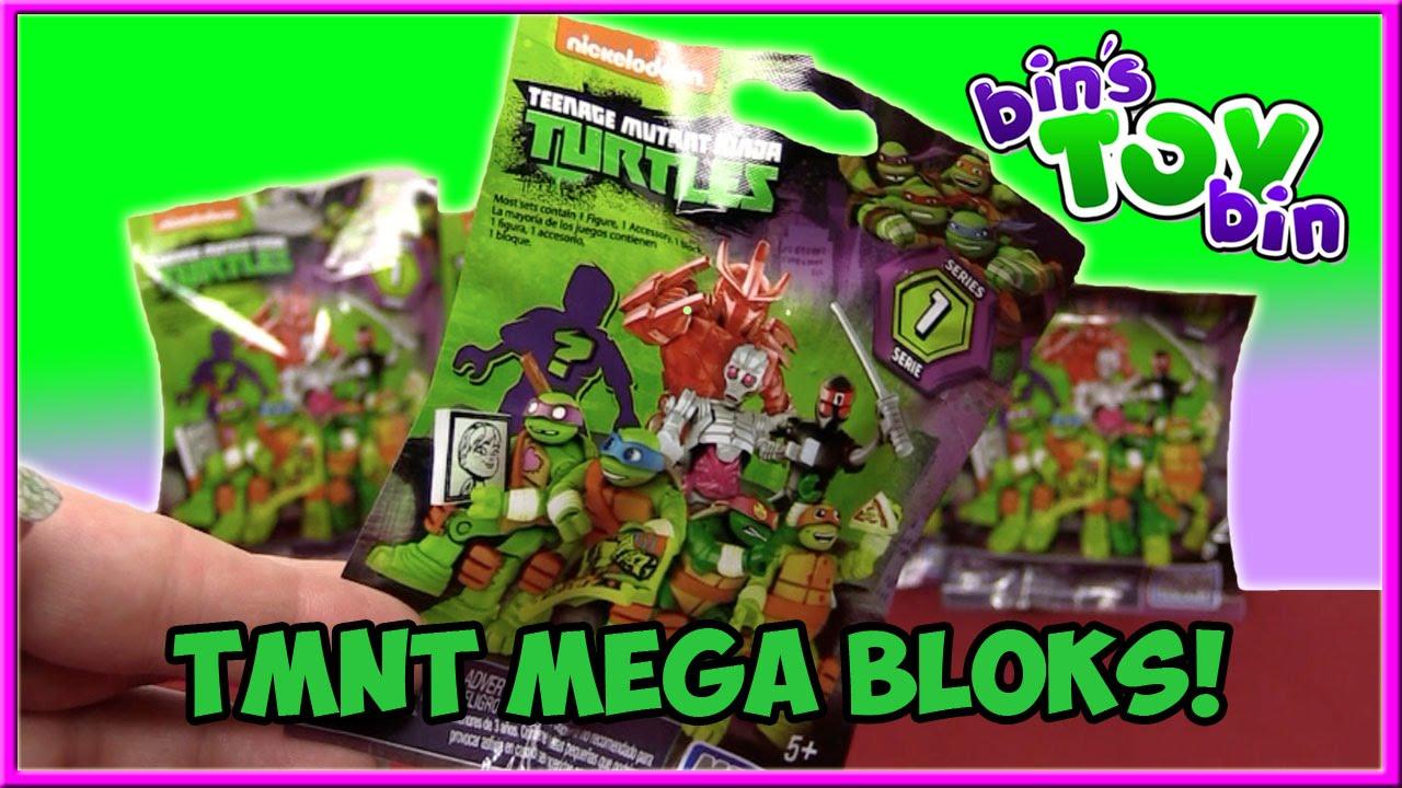 Ninja Turtles Mega Bloks Blind Bags Series 1 W Codes