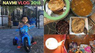 "NAVMI 2018: ""Aise Taiyar Kiya Maine Navmi Ka Bhog""| INDIAN NRI HOUSEWIFE | REAL HOMEMAKING"