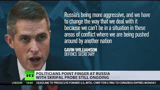 Politicians point finger at Russia with Skripal probe still ongoing