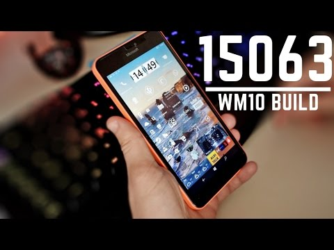 Windows 10 Mobile - Creators Update build 15063 (Stability)