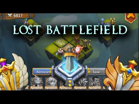 Castle Clash: Lost Battlefield Field Rank 2