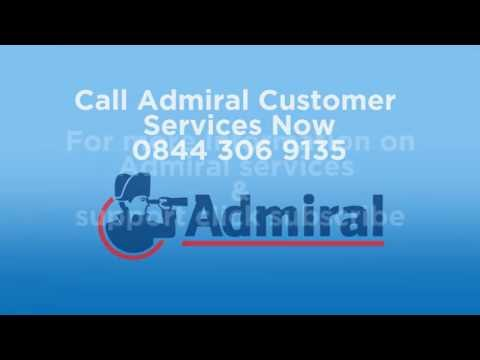 Admiral Phone Number | 0844 306 9135