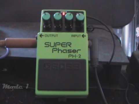 BOSS PH-2 SUPER Phaser Video Demo