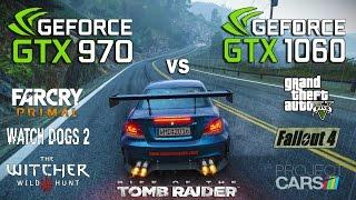 GTX 970 vs GTX 1060 Test in 7 Games (i5 7600k)