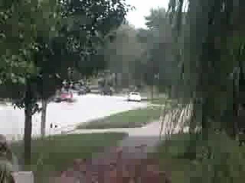 Cincinnati, Ohio Wind Storm 9/14/08- Hurricane Ike #1
