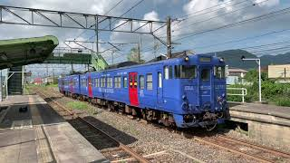 JR九州 佐世保線ローカルな高橋駅を発着・通過する列車たちNo.2(試運転・臨時・特急・普通など)
