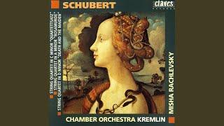 """String Quartet in C Minor, D 703, """"Quartettsatz"""": Allegro assai"""