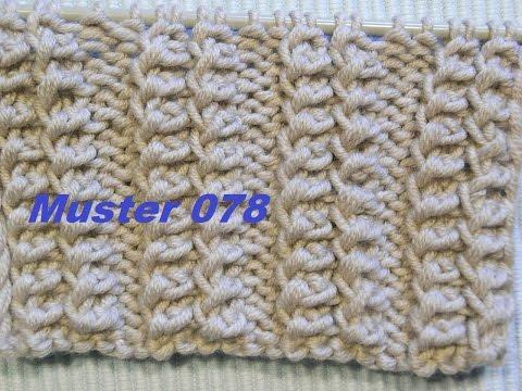 Bulgarisch Muster 078*Bündchen**Stricken Lernen* Muster Für Pullover Strickjacke Mütze*Tutorial