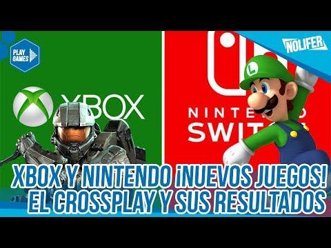 Nintendo y Xbox Crossplay ¡Nuevos Juegos! ¡EL ACUERDO DEL AÑO! / #NintendoSwitch #XboxOne