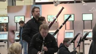 Flashmob med Bergen Filharmoniske orkester